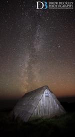 Milky Way ~ Freshwater West Seaweed Hut